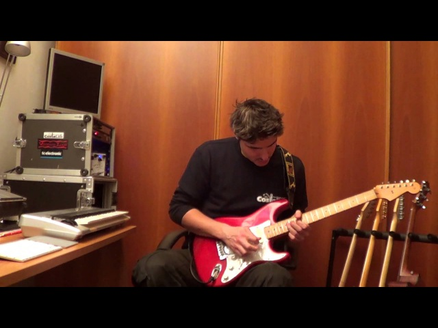 Pink Floyd Marooned played by Edoardo Scordo