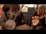 13 Year Old Willow Osborne Jam with Alison Brown at SPBGMA 2014