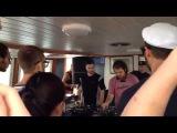 Kahn &amp Neek drop Wonder - What (Geeneus Remix) at Outlook Festival 2014 (boat party)