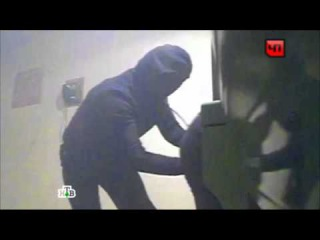 Камеры сняли, как воры похитили 24 млн рублей из банкомата