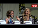 Game of Thrones Maisie Williams & Natalie Dormer Interview - SDCC Women Who Kick Ass Panel