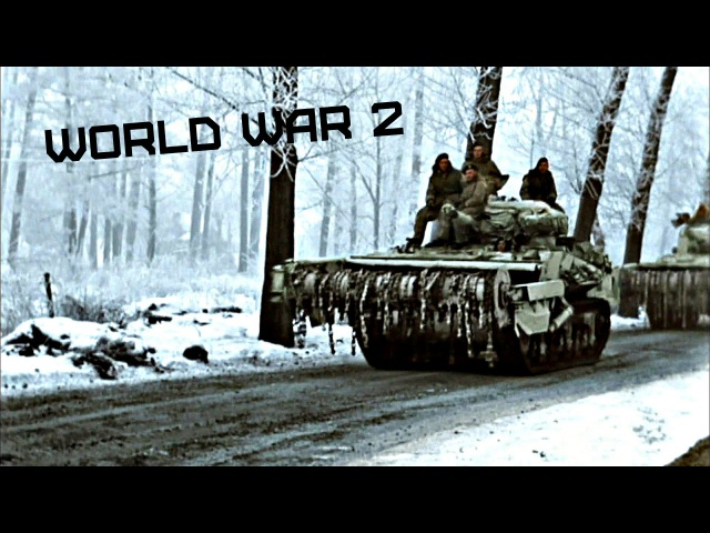 World War 2 • Battle of the Bulge • In colour