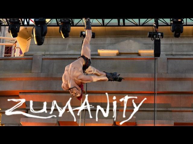 Zumanity Outdoor Performance in Vegas 2015 Cirque du Soleil