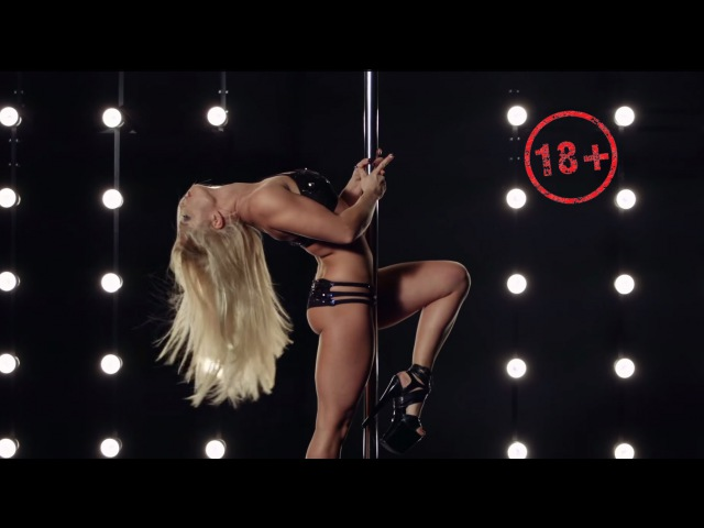 Pole Dance - Anastasia Sokolova - Authors pole dance tricks - New 2015