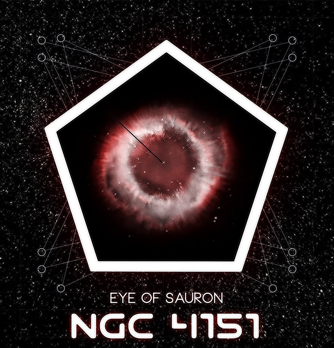 Eye of Sauron - NGC 4151 (EP) (2015)
