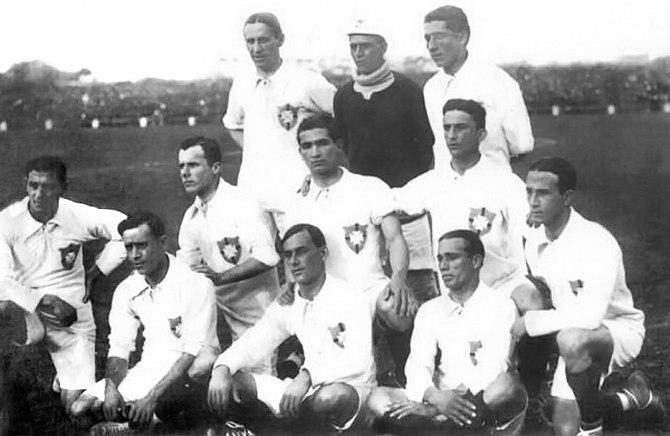 seleção brasileira 1917