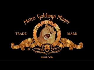 Лев Metro goldwyn Mayer рычит