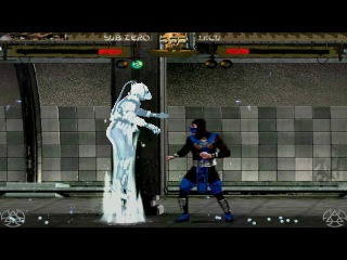 Mortal Kombat: Shinobi MUGEN 1080P HD Playthrough - BATTLE 1 - SUB-ZERO VS SOLDIER