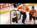 Ray Emery Punches David Perron (1/20/15)