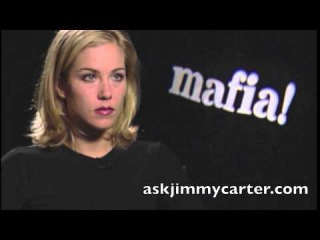 Christina Applegate interview with Jimmy Carter