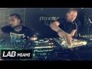 Adam Beyer b2b Joseph Capriati techno set in Mixmag Lab Miami