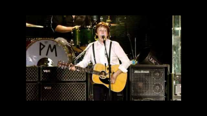 Paul McCartney Calico Skies Eleanor Rigby Live