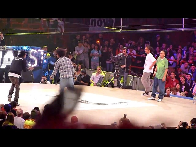 Juste Debout 2011 | Final HipHop | Ukay Aldo vs Les Twins (win)
