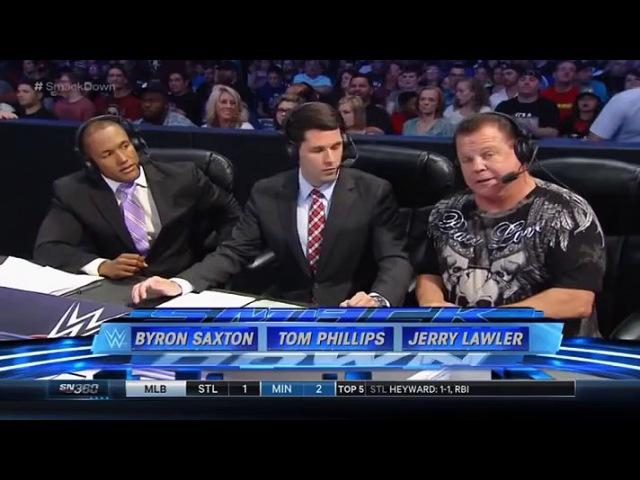 WWE Smackdown 18.06.2015 (2 часть)
