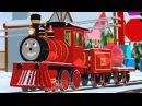 Паровозик Шонни наряжает ёлку. развивающий мультфильм для малышей. Учим лево и п