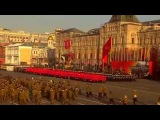 Марш в честь 74-ой годовщины парада 7 ноября 1941 года, Москва видео