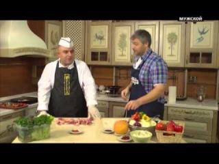 Анар Сеидов готовит садж Корона. Моя Кухня. 67