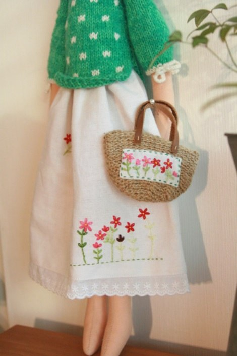 сумочка вышивка