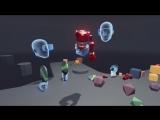Презентация игры ToyBox с VR-гарнитурой Oculus Rift