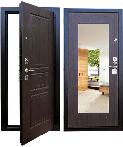 купить металлическую дверь сталь 2мм