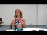 2015: Интервью Роуз в пресс-рум на «WonderCon 2015» о сериале «Я - Зомби» #5 (4.04.15)