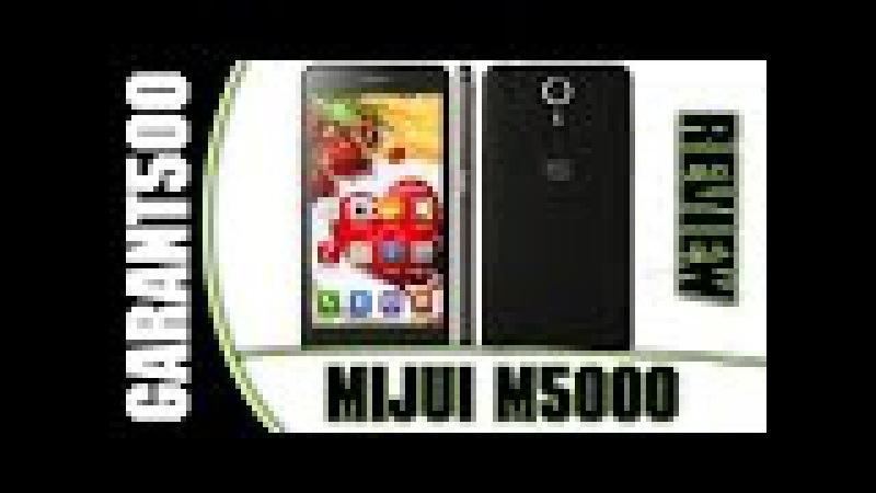 MIJUE M5000 Обзор антикризисного смартфона с полным набором необходимых функций!
