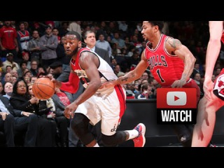 John Wall vs Derrick Rose EPIC PG Duel Highlights Wizards vs Bulls (2015.01.09) - 2nd Battle!