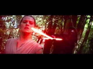 Трейлер Звёздных войн: Пробуждение силы для японского рынка с дополнительными сценами Рифмы и Панчи