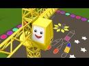 Учим плоские геометрические фигуры с паровозиком Чух-Чухом - часть 2. Геометрия для детей. Мультик