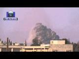 Су34 наносит удар в районе Хан Аль-Асад (Алеппо)