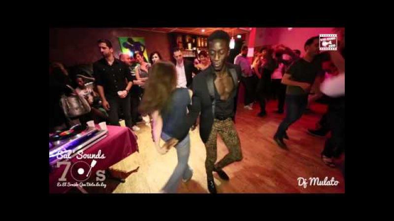Mouaze Konaté Meredy social salsa @ Sal'Sounds 70's