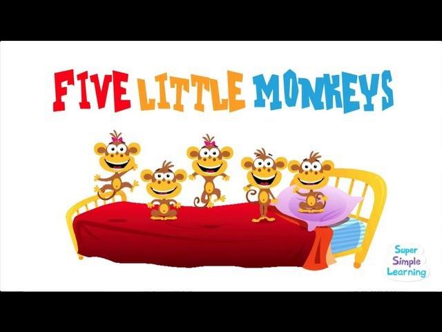 Five Little Monkeys | Super Simple Songs
