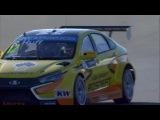 WTCC 2015 - Argentina - Free Practics 1 clip  Lada Vesta