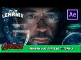 Iron Man HUD After Effects Tutorial! Film Learnin