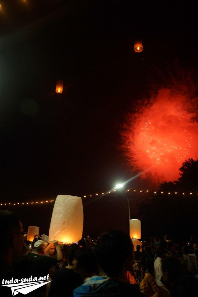 Праздник Лой Кратонг фото