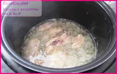 Как приготовить курицу с корочкой в мультиварке