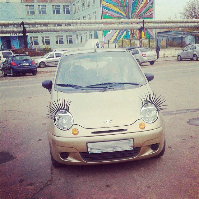 «Гламурный» автомобиль