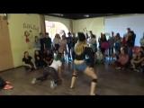 Funky SessionTWERKДарья Сафонова vs. Пятина Ксюха