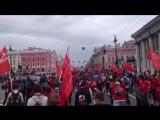 16.05 Роллер пробег 2015 Невский проспект