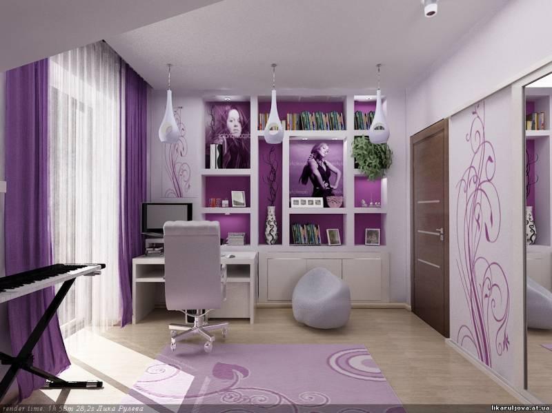 дизайн комнаты для девушек 13 лет