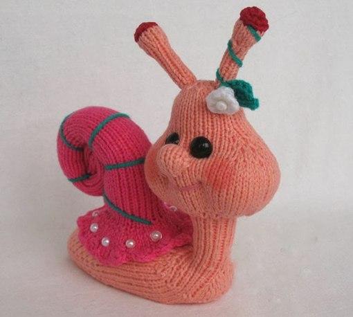 Схемы вязания игрушек, игрушки