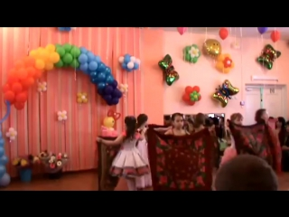 Танец с платками в детском саду № 11 Полянка. г. Н. Новгород.