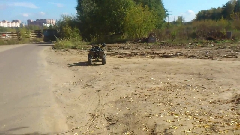 Поставил магнитолу на Armada ATV 50G