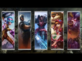 Wombo Combo: Vi + Graves + Garen + Annie + Alistar | League Of Legends Wombo Combo