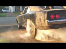 1968 Dodge Charger R/T First burnout