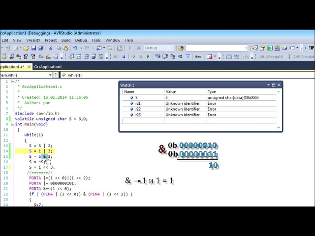 Программирование микроконтроллеров для начинающих урок 3