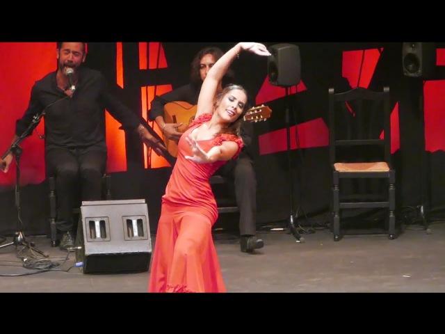 Alba Heredia por seguiriyas (premio Desplante 2015) | Flamenco dance | フラメンコのダンサー
