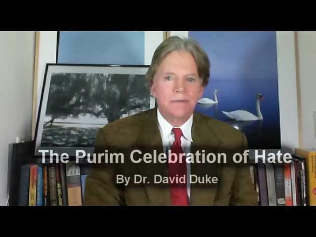 Дэйвид Дюк. Пурим и Еврейская Пасха.