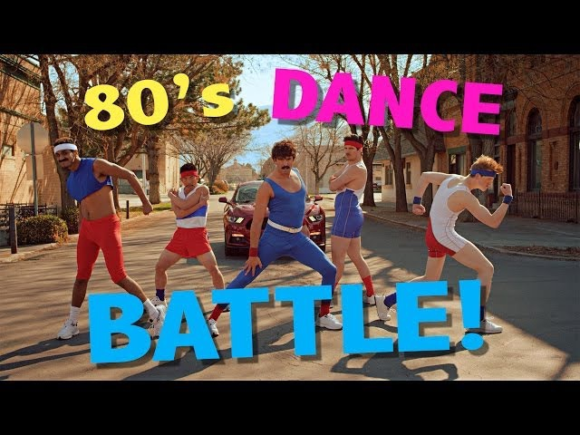 80's AEROBIC DANCE BATTLE! @ScottDW