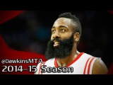 James Harden Full Highlights 2015.01.10 vs Jazz - 30 Pts, 5 Assists, MVB!